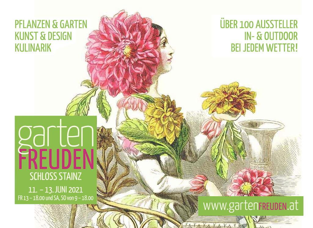 Gartenfreuden Stainz 11. - 13. Juni Gartenfreuden Stainz 2021